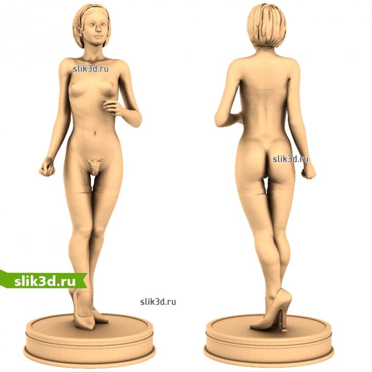 3D STL Голая Девушка